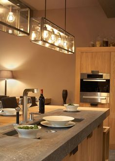 lighting for a kitchen. La Cuisine En Lumire Lights Over IslandKitchen Lighting For A Kitchen