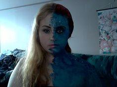 Mystique makeup!