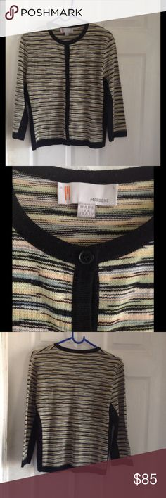MISSONI Cardigan Great condition. Gently used. No flaws Fits like a Large. Missoni Sweaters Cardigans