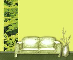 Senkrechtbordüre: Natur • mein Bordürenladen - DaWanda