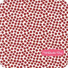 Town and Country Red Raindrops Yardage SKU# STELLA-83-RED - Fat Quarter Shop