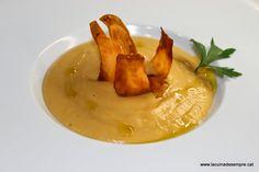 La cuina de sempre: Xips de moniato