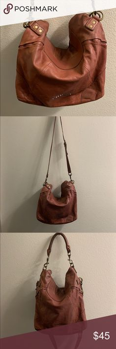 68ef48e3e Liebeskind handbag Liebeskind Berlin leather hobo crossbody bag Please see  pictures for wear. Some rubbing
