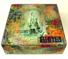 ~ Altered Wooden Box ~ <3 <3 <3