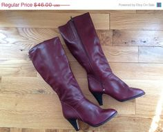 Hey, I found this really awesome Etsy listing at https://www.etsy.com/listing/192405194/xoxo-vintage-boots-7-12-womens-oxblood