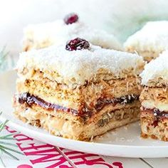 Polish Recipes, Something Sweet, Tiramisu, Food And Drink, Menu, Sweets, Cooking, Ethnic Recipes, Holiday