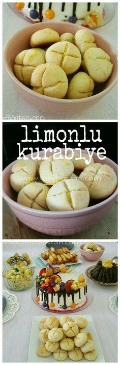 Anne kurabiyesi tadında mis gibi limon kokan bir tarifle geldim .limonlu kurabiye 👉 http://www.morbostan.com/2017/07/limonlu-kurabiye.html?m=1