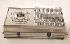 Vendita online | Mod. F2 Maxi Barbecue in acciaio inox Combinata GA Srl - Barbecue - Articoli per la casa - Prodotti Italiani