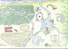 Map of Camp Half-Blood