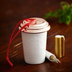 Amazon.com - Starbuck's Christmas 2013 Ornament, Create Your Own Ornament