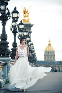 Alkmini Bridal Paris Collection www.alkmini.info