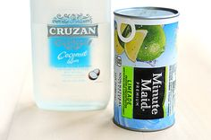 Frozen Coconut Limeade, 2 ingredients