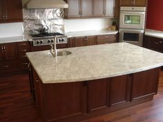 Informative post on white stones for counter tops