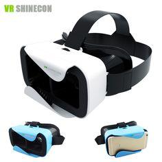 Virtual Reality Glasses Mobile Video Movie Glasses VR Helmet Park for Phone VR Shinecon III Head-Mount Cardboard Virtual Reality Glasses, Virtual Reality Headset, Vr Helmet, Vr Shinecon, Google Vr, 3d Vr Box, 3d Cinema