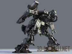 Боевой робот Mech Warrior