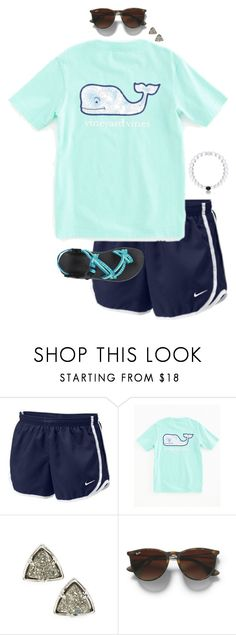 """""""contest read d"""" by preppy-classy ❤ liked on Polyvore featuring NIKE, Vineyard Vines, Kendra Scott, Club Monaco and Chaco"""