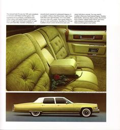 1976 Cadillac Fleetwood Brougham in 'Florentine gold firemist'