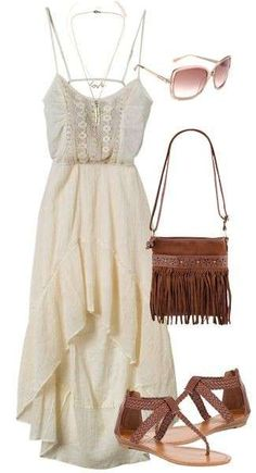 OUTFIT IDEAS FOR WOMAN - LOOK BOHO CHIC