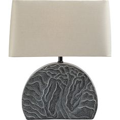 McGuire Furniture: Robert Kuo Shan Table Lamp: No. RKL-39