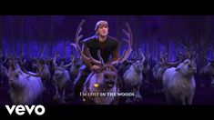 """Jonathan Groff - Lost in the Woods (From """"Frozen 2""""/Sing-Along) - YouTube"""