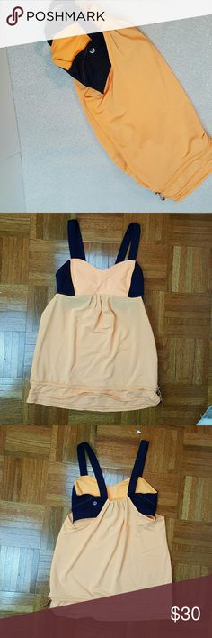 Lululemon built in bra top In excellent pre owned  condition  Lulu size 4 lululemon athletica Tops