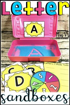 Letter Formation hands on center. A fun and engaging way for kiddies to practice writing uppercase and lowercase letters of the alphabet. Perfect for center time, phonics, literacy stations, RTI, guided reading extensions and word work! Kindergarten Lesson Plans, Kindergarten Activities, Kindergarten Reading, Preschool Literacy, Alphabet Activities, Kindergarten Classroom, Classroom Ideas, Fine Motor Activities For Kids, Hands On Activities