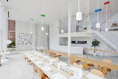 SHIBAURA HOUSE - great creating-space for children to play, draw and express themselves. White and clean.