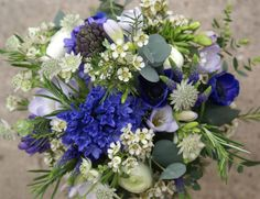Pretty, Country Scented Bridal Bouquet from our May collection.