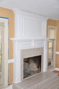 Remodeling a fireplace