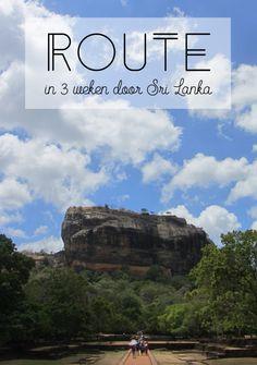 Pinterest route Sri Lanka 3 weken