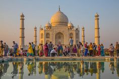 Taj Mahal - Agra Agra, Taj Mahal, Romantic, India, Building, Travel, Goa India, Viajes, Buildings