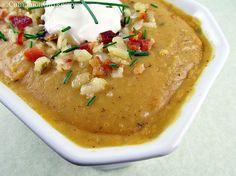 Creamy Potato Soup with Bacon Vinaigrette | Bon Appetit / Lets Eat ...