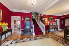 Detached House for Sale: Bettystown House, County Meath Hallway Inspiration, Detached House, Home, Ad Home, Homes, Haus, Houses
