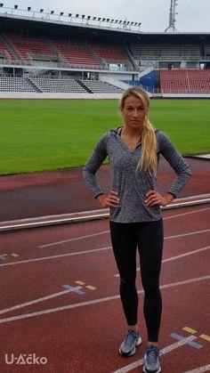 Bára Procházková česká sprinterka nosí Under Armour