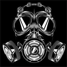 Hip Hop music, lyrics, and videos from Charlottetown, PE, CA on ReverbNation Gas Mask Art, Masks Art, Graffiti Drawing, Graffiti Art, Catrina Tattoo, Trash Polka Tattoo, Mask Tattoo, Beard Tattoo, Graffiti Wallpaper
