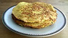 Receptenruil: Courgette kokos pannenkoekjes