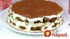 Blesková torta z kyslej smotany s vôňou kávy: Hneď pripravená, osvieži a v lete ide viac, ako zmrzlina!