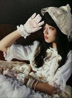 a fountain of shimmering contradictions Harajuku Fashion, Lolita Fashion, Fan Fiction, Nana Komatsu Fashion, Doll Style, Style Lolita, Komatsu Nana, Angelic Pretty, Japanese Models