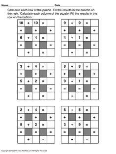 Free Math Worksheets First Grade 1 Addition Missing Addend Sum Under 10 . 3 Worksheet Free Math Worksheets First Grade 1 Addition Missing Addend Sum Under 10 . Free Printable First Grade Worksheets Free Worksheets Kids Fun Worksheets For Kids, Math Games For Kids, Puzzles For Kids, Kids Math, 2nd Grade Math Games, First Grade Worksheets, Math Enrichment, Math Activities, Printable Math Worksheets