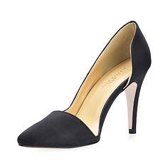 Silk Stiletto Heel Pumps Party / Evening Shoes - USD $ 64.99