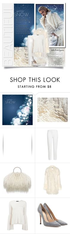"""""""Winter Snow...winter fashion"""" by fashionlibra84 ❤ liked on Polyvore featuring DV, Chanel, MaxMara, STELLA McCARTNEY, The Row and Gianvito Rossi"""