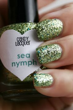 Candy Lacquer Sea Nymph #indie #nailpolish #manicure #glitter #beauty