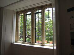 Hampton Court window - England