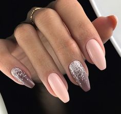 Want some ideas for wedding nail polish designs? This article is a collection of our favorite nail polish designs for your special day. Stylish Nails, Trendy Nails, Cute Nails, Stiletto Nails, Gel Nails, Acrylic Nails, Coffin Nails, Wedding Nail Polish, Nagel Gel