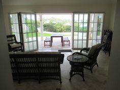 Bermuda Pool House with Door Wall, Sliding Glass Door, Home Projects, My House, Windows, Doors, Sprouts, Summer Garden, Rooftop Deck
