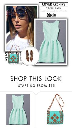 """SheIn 1/III"" by nermina-okanovic ❤ liked on Polyvore featuring shein"