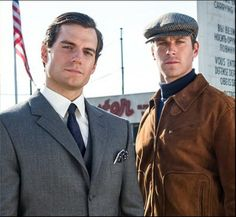 The Man from U.N.C.L.E. - Henry Cavill & Armie Hammer ... What a sexy team!!