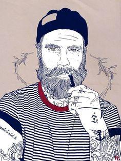 #ART #Beard .