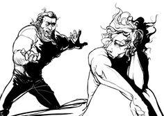 Thor and Loki by Autumn Tavern