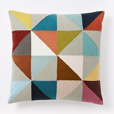 Wallace Sewell Crewel Pillow Covers | west elm